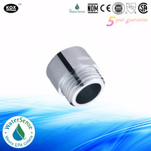 water saving adaptor use for shower head and shower hose with chrome plating 4L/6L/8L per min