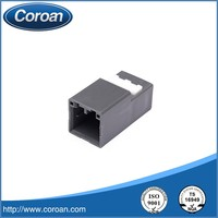 10 pin plastic female auto connector HRM648-E-10 for automotive application