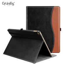 For iPad Pro 12.9 Case,Premium Leather Business Slim Folding Stand Folio Case Cover For New Apple Tablet iPad Pro 12.9 Inch