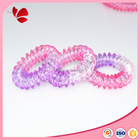 3.5cm plastic rubber triangle shape hair band gum for all hair styles