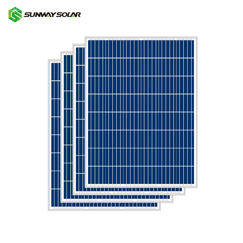 China Best PV Supplier Poly 220w 230w 240 Watt Solar Panels For Industry From Anhui