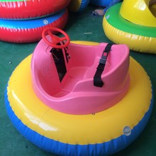 Colorful and animals style kids water boat paddle boat electric bumper boat