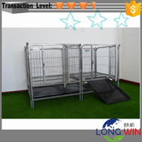 China Factory Large Strong Stainless Large Steel Cheap Double Dog Cage