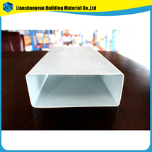 low price list square drain pvc pipe