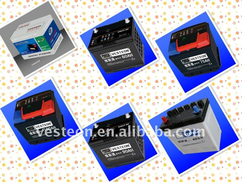 Best price 12V Car maintenance free battery