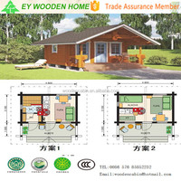Fast assembly Small Wooden Cabin House