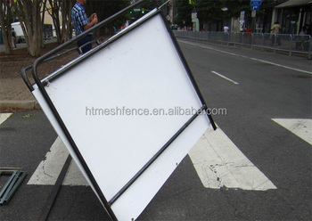Economy 1.1X2.0M Painting Pedestrian Crowd Control Barrier