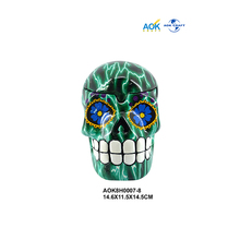 Factory Supply Artificial Creative China Supplier Carved Wholesale Halloween Skull