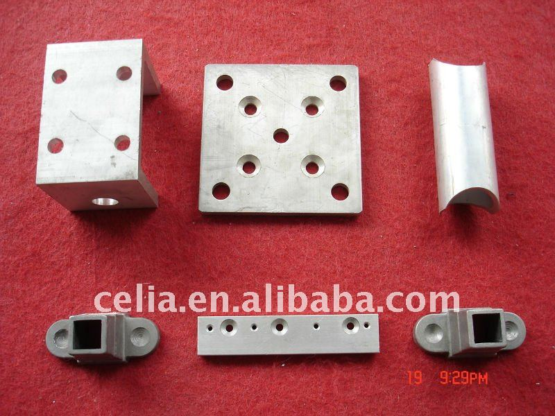 Metal stamping machine parts(galvanized,or powder coated,or dacromet)