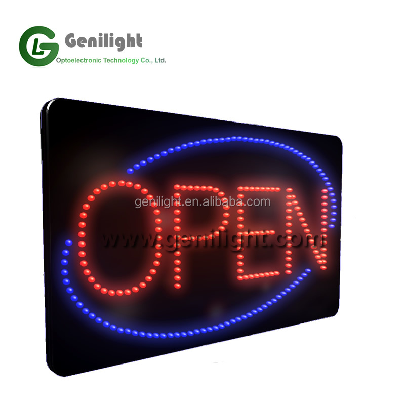 LED Open Sign with High Brightness LED