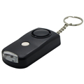 2 in 1 130DB Loudly Self Defense LED Keychain Personal Alarm Support OEM Travel Alarm