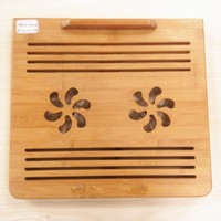 Factory cheap price cooling fans for laptop/bamboo portable laptop cooling pad