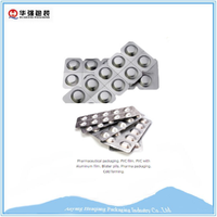 Aluminum capsule foil packaging
