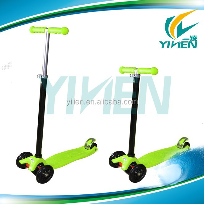 4 wheel mini kick scooter for kids, children kick scooter