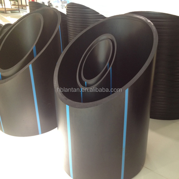 Factory Wholesale 250mm HDPE polyethylene water supply pipe price with fittings