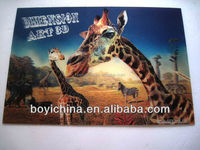 free sample animal zebra lenticular 3d picture making