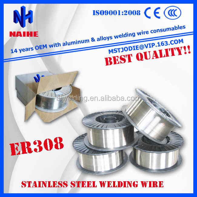Factory price ER308 ER310 ER312 Stainless steel welding wire with high quality free sample
