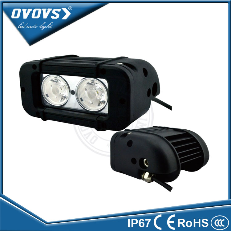OVOVS single row off road 20w led light bar 12v for snowmobile