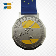 3D customized embossed iron sports running metal medals of honor