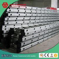 6063-T5 portable household aluminum straight ladder