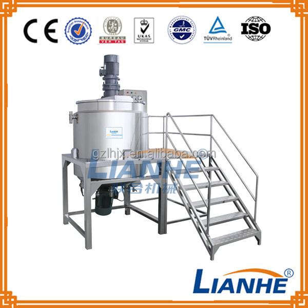 Detergent Liquid Soap production line/300l Machine For Detergent Liquid Soap Making Machine/shampoo Mixer Tank
