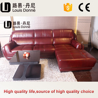 american style best price leather sofa pink