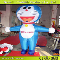 Hot sale cartoon body inflatable for pub