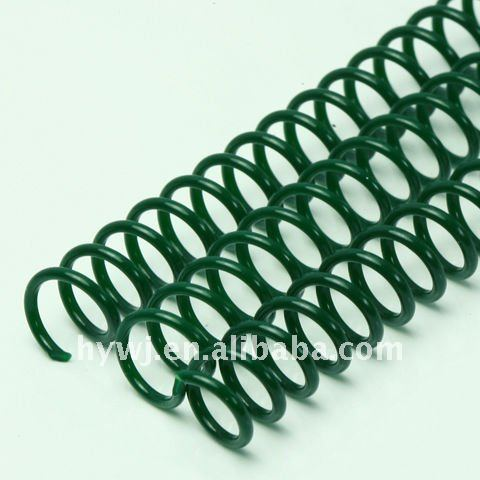 loose leaf binding supplies plastic spiral, plastic spiral coil for notebooks