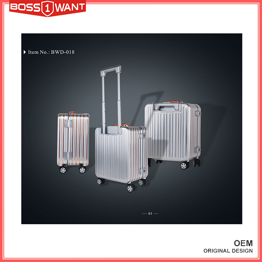 Chinese Original Design Aluminum Case Manufacturer plane luggage with Factory Price