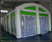 white wedding inflatable tent airtight inflatable tent , inflatable air tent for sale