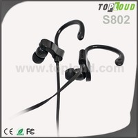 custom logo earphone with microphone best sound sports ear hook earphone