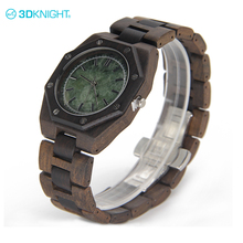 Natural wood brand wood grain watches men customize logo