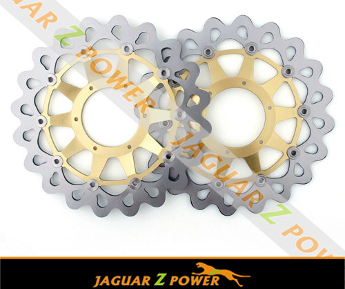 Stainless steel Oversize Supermoto Front Brake Disc Rotor for Honda CBR 1000 RR (2008-2014)GOLD