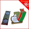 Digital Name Car Suit Magnetic Badge