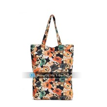 Golden supplier in UK custom standard size heavy canvas tote bag