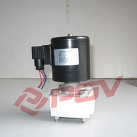 POF-25 strong corrosive direct acting 1 inch 2/2way solenoid valve 12v