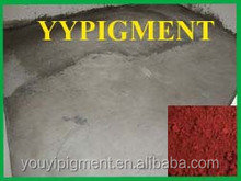 Iron oxide red for color tiles grout and cement glue