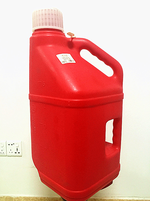 Customize Plastic Jerry Can ,Oil Container ,Fuel Can 5L/10L/5gallon