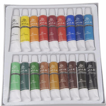 Wholesale cheaper high quality 18 colors acrylic paint