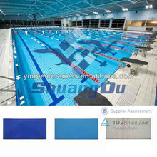 Hot sale swimming pool bullnose tile 240x115mm/244x119mm ceramic pool tile edge