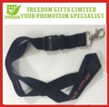 Silk Screen Customed Printed Polyeste Lanyards With Key Ring