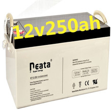 Neata solar gel battery 12v 250ah ,deep cycle lead acid battery with cheap price ,for solar system