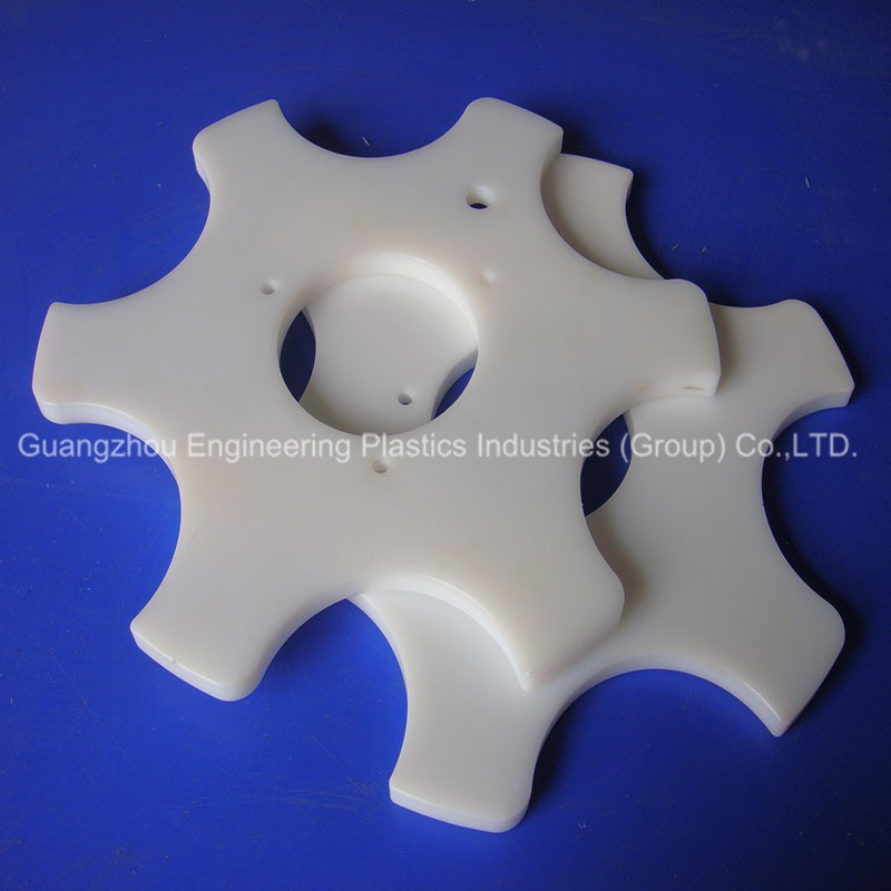 Custom Made Pa66 Nylon Machined Injected Gear Wheel
