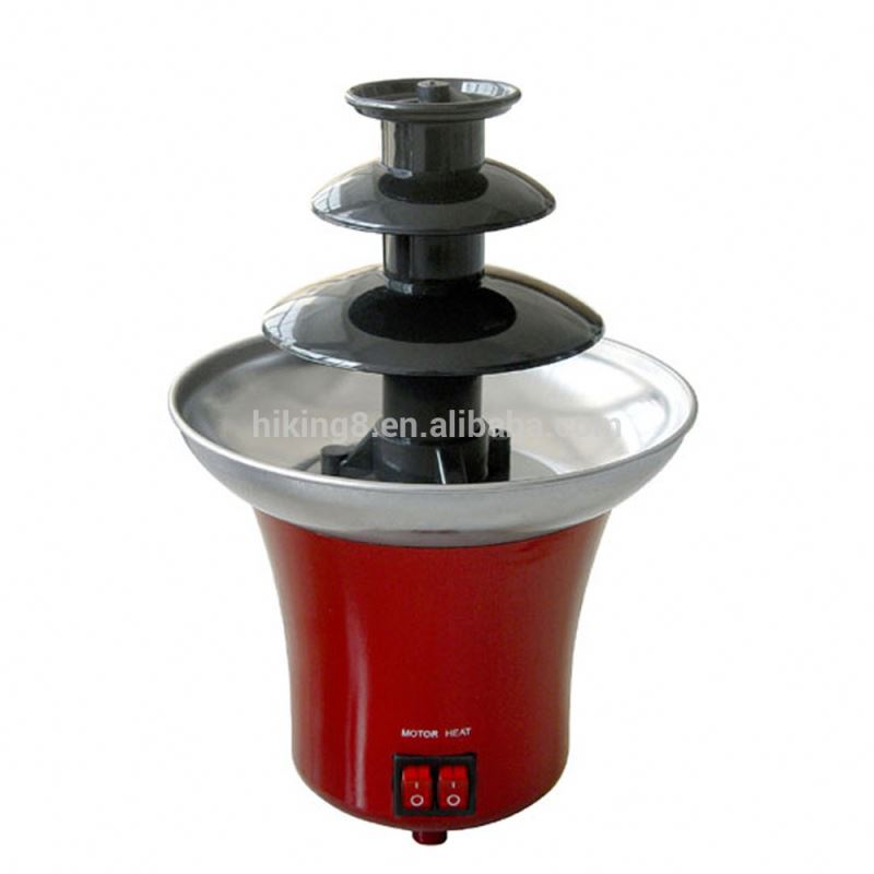 Household mini chocolate fondue fountain whosale