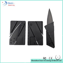 New Arrived Superlight Credit Card Folding Utility Blade Knife Knifes Pocket