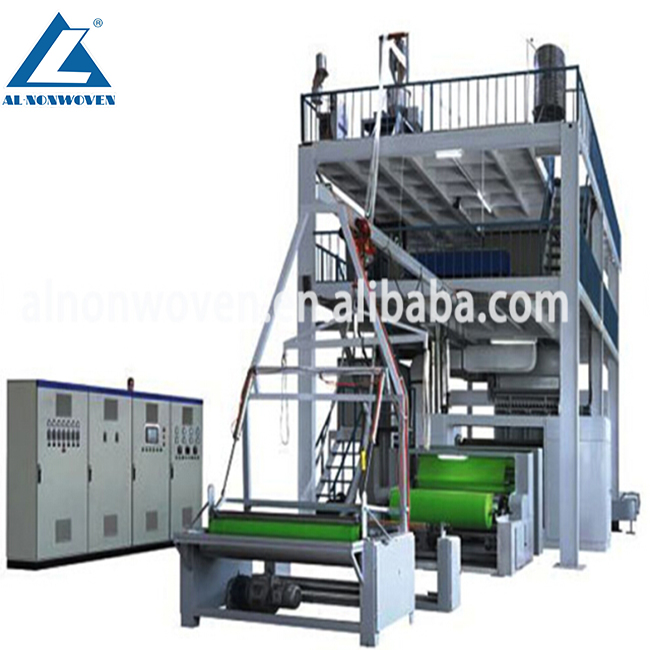 2017 AL-1600MM S New Design PP Spunbond Non woven Fabric Making Machine With Cheap Price