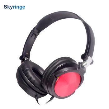 hot selling mp3 stereo sport OEM wired headphone with many color