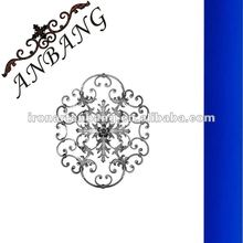 ornamental steel rosettes for stair,window,fence,gate,balcony