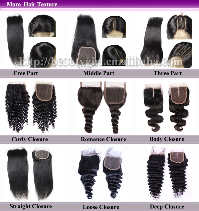 Lace Closure more hair texture