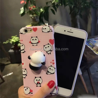 For iPhone 6 Plus 3D Lovely Panda, cell phone accessories of case phone cover for iphone 7 8